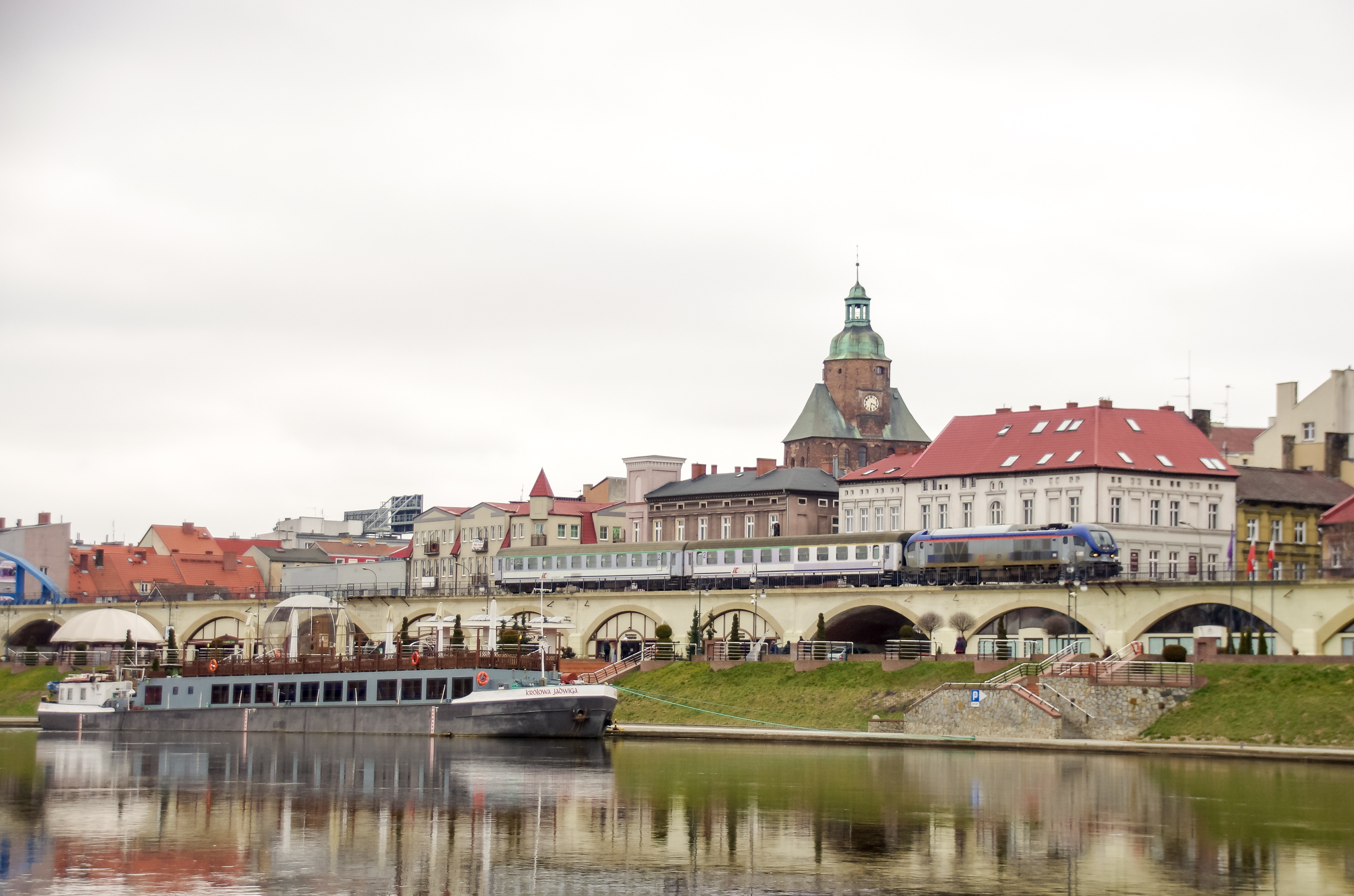 PKP Intercity. Pociąg TLK w Gorzowie Wielkopolskim, fot. Maciej Filip Kacprzak