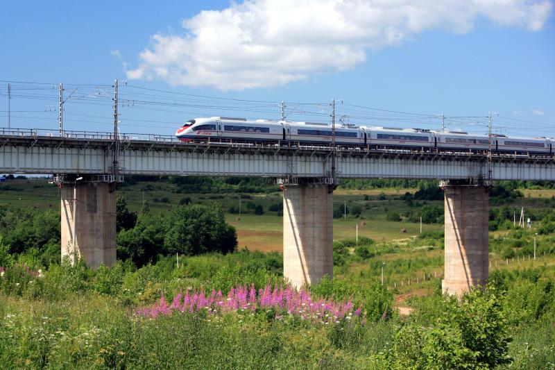 Najszybszy pociąg w Rosji