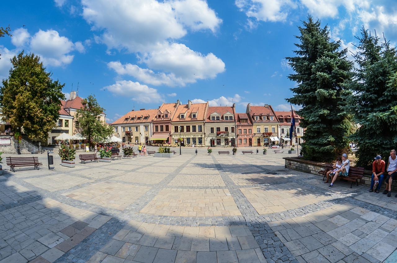 Sandomierz Rynek Starego Miasta